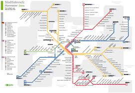 Metro La Map Metro Map Of Hannover Metro Maps Of Germany U2014 Planetolog Com