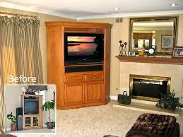 armoires corner hutch tv stand black corner tv hutch corner tv