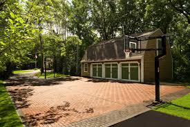 eagan backyard paver sport court southview design