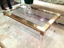 lucite waterfall coffee table acrylic waterfall coffee table image of acrylic coffee table acrylic
