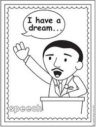 martin luther king history coloring pages for kid social stadies