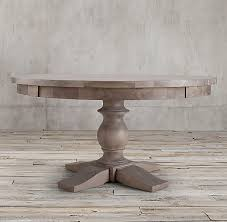 restoration hardware 17 c monastery table c monastery round dining table