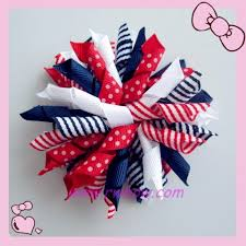 bowtique hair bows 4th of july m2m korker bow r w bowtique hair accessories hair