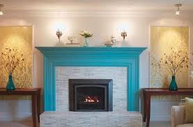 inspiring brick fireplace paint ideas