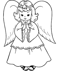 angel color pages coloring page by number ecoloringpage printable coloring pages in