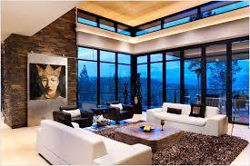Lake Home Interiors by Stunning Modern Lake View Home Lake Home Interiors Interior