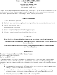 Cra Sample Resume by Recruiter Resume Example
