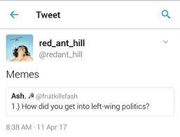 F Memes - the phenomenon of marxist indoctrination via memes a case study