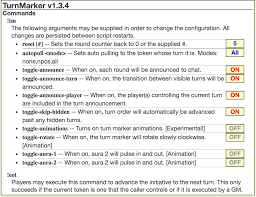 community forums script update turnmarker1 now with gm