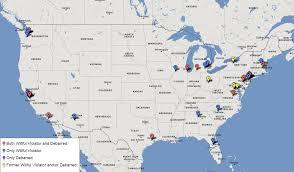San Jose California Map H 1b Employer Maps Dependent Willful Violator And Debarred