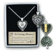 heart urn always in my heart memorial urn locket filigree