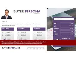 marketing persona powerpoint template powerpoint