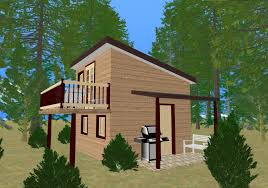 Cabin Designs Plans Modern Shed Roof Cabin Plans Escortsea
