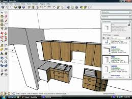 Kitchen Cabinet Components Sketchup Plugins Assist Kitchen Design Using Dynamic Components