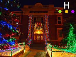 Deer Christmas Lights Lighting Up Downtown U2013 The Christmas Lights Of Downtown Red Deer