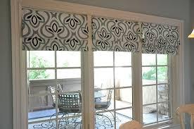 Window Blinds Patio Doors Fantastic Roman Shades Patio Doors And Patio Door Roman Shades