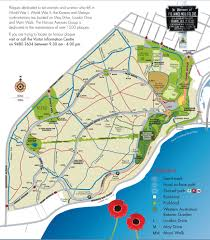Kings Park Botanic Garden by Botanic Gardens And Parks Authority Honour Avenues Map