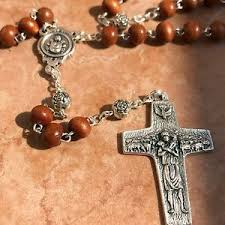 rosaries blessed by pope francis pope francis cocoa wooden rosary blessed by pope rome
