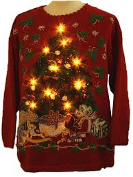 ugly christmas sweater with lights ugly christmas sweater with lights christmas tree decor ideas