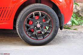 painted brake drums the red rocket fiat grande punto sport update interiors now in karlsson