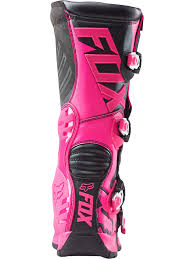 female motocross gear fox black pink 2018 comp 5 womens mx boot fox freestylextreme