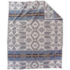 amazon com pendleton blanket silver bark blanket home u0026 kitchen