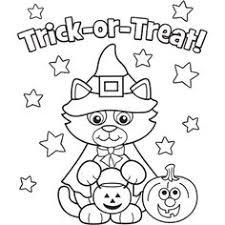 24 free printable halloween coloring pages kids print