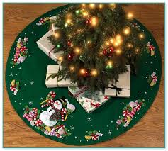 applique tree skirt kits