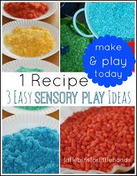 rainbow sensory bin little bins for little hands