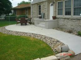 Concrete Patio Design Pictures Cement Backyard Design This Backyard Cement Patio Designs