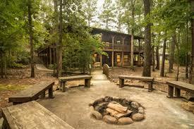 Rustic Firepit Image Result For Forest Landscape Design With Firepit Backyard