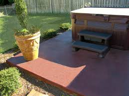 Concrete Ideas For Backyard by Decorative Concrete Patio Xtreme Polishing System U0027s Official Blog