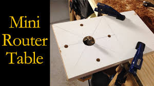 how to build a router table youtube miniature router table router base cmrw 23 youtube