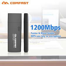 Usb Wifi Adapter For Faster Wifi Usb Wifi Mini Usb Wifi Adapter 1200m 802 11ac Wireless Computer Card