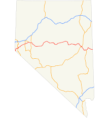 Show Me A Map Of The Usa by U S Route 50 In Nevada Wikipedia
