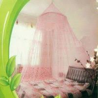 Lace Bed Canopy Cute Hanging Round Dome Bed Canopy Netting Baby Kids Crib Mosquito