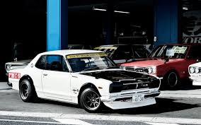 tuner cars wallpaper skyline nissan jdm old car hakosuka wallpapers