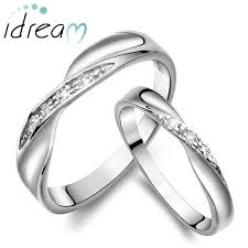 wedding rings for couples unique infinity promise rings for couples sterling silver twisted