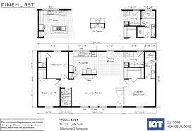 3 bedroom trailer floor plans manufactured homes home