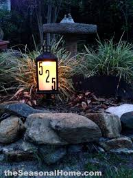 light up address sign 12 genius ways to brighten up your life with solar lights