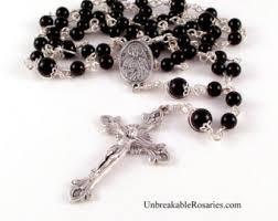 rosaries for sale unbreakable rosaries etsy