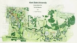 Indiana State University Campus Map by Kent Campus Master Plan Master Plan Pinterest Master Plan