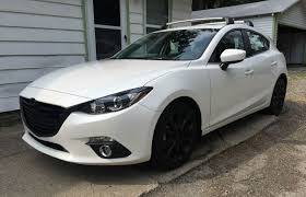 mazda zoom 3 black on white is looking quite alright 2015 mazda 3 s touring