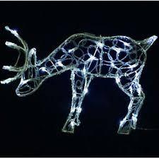 reindeer plastic indoor outdoor lights ebay