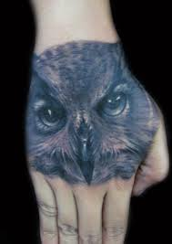 hand tatto for men owl tattoo on hand by hatefulss deviantart com birds pinterest