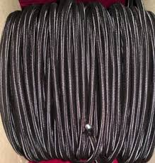 electrical cable 3 core round braid