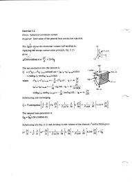 b derivation of general heat conduction equations cylindrical coordinate systems spherical coordinate systems