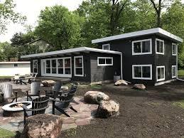 clearwater lake modern cabin vrbo