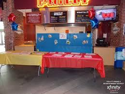 toy story activity table activity table at toy story movie night family events pinterest