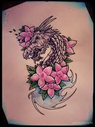 dragon tattoo design by gothicghostjcd on deviantart